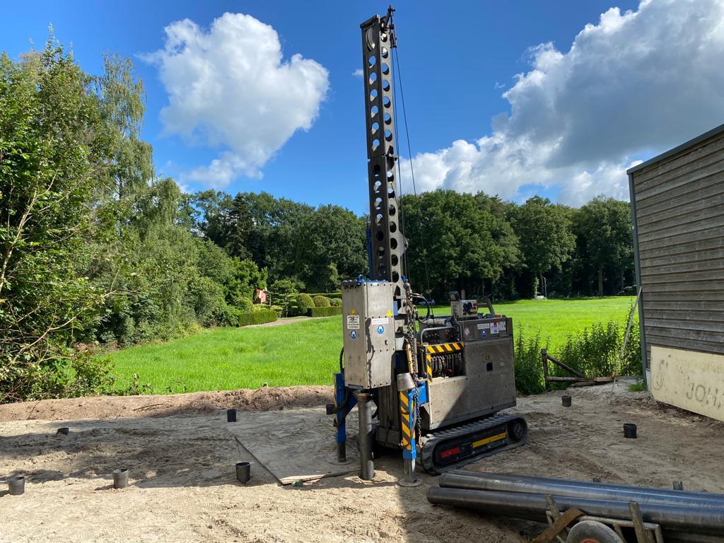 onderheid terras aanleggen aanpak